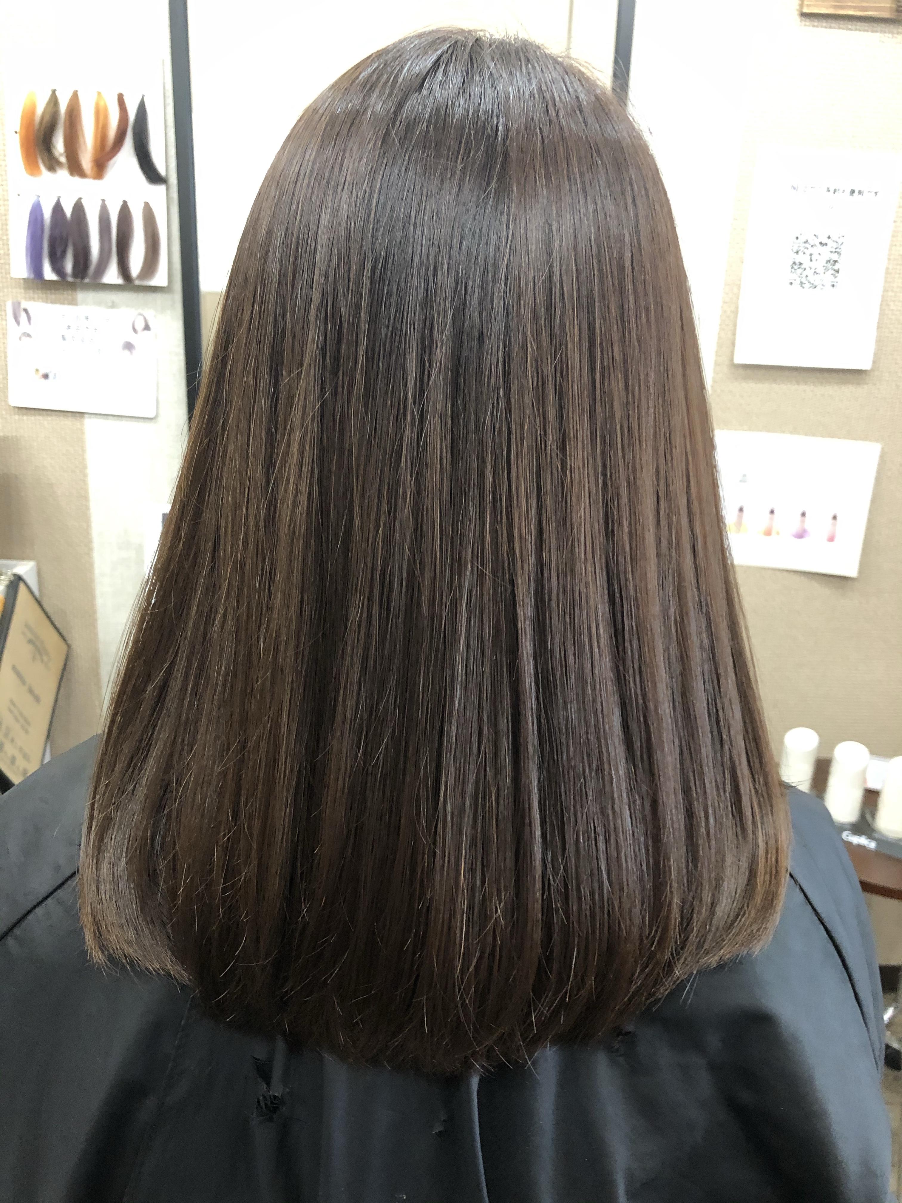 川口市で髪質改善カラーエステ