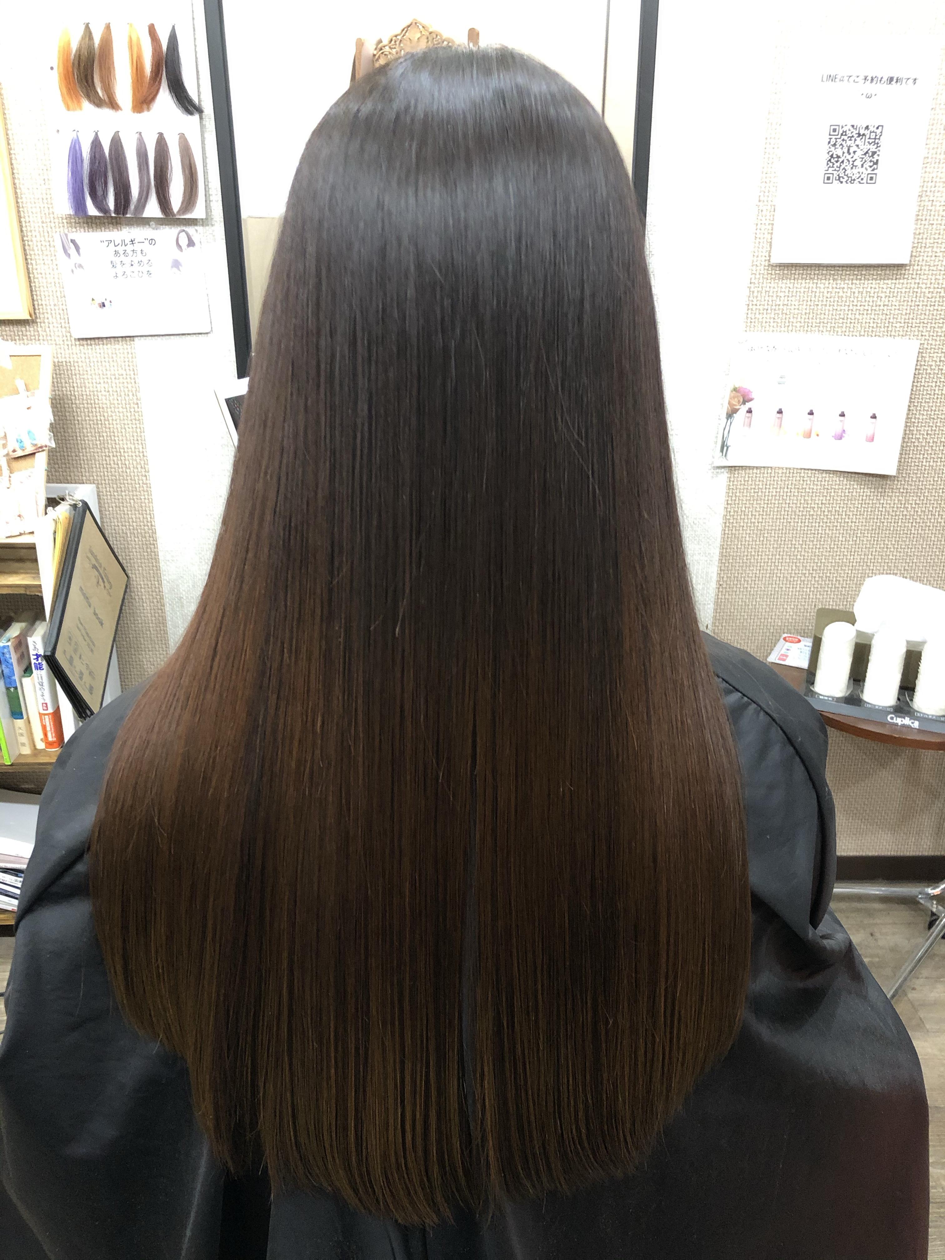 上尾市で天然ヘナで髪質改善ヘアエステができる美容室