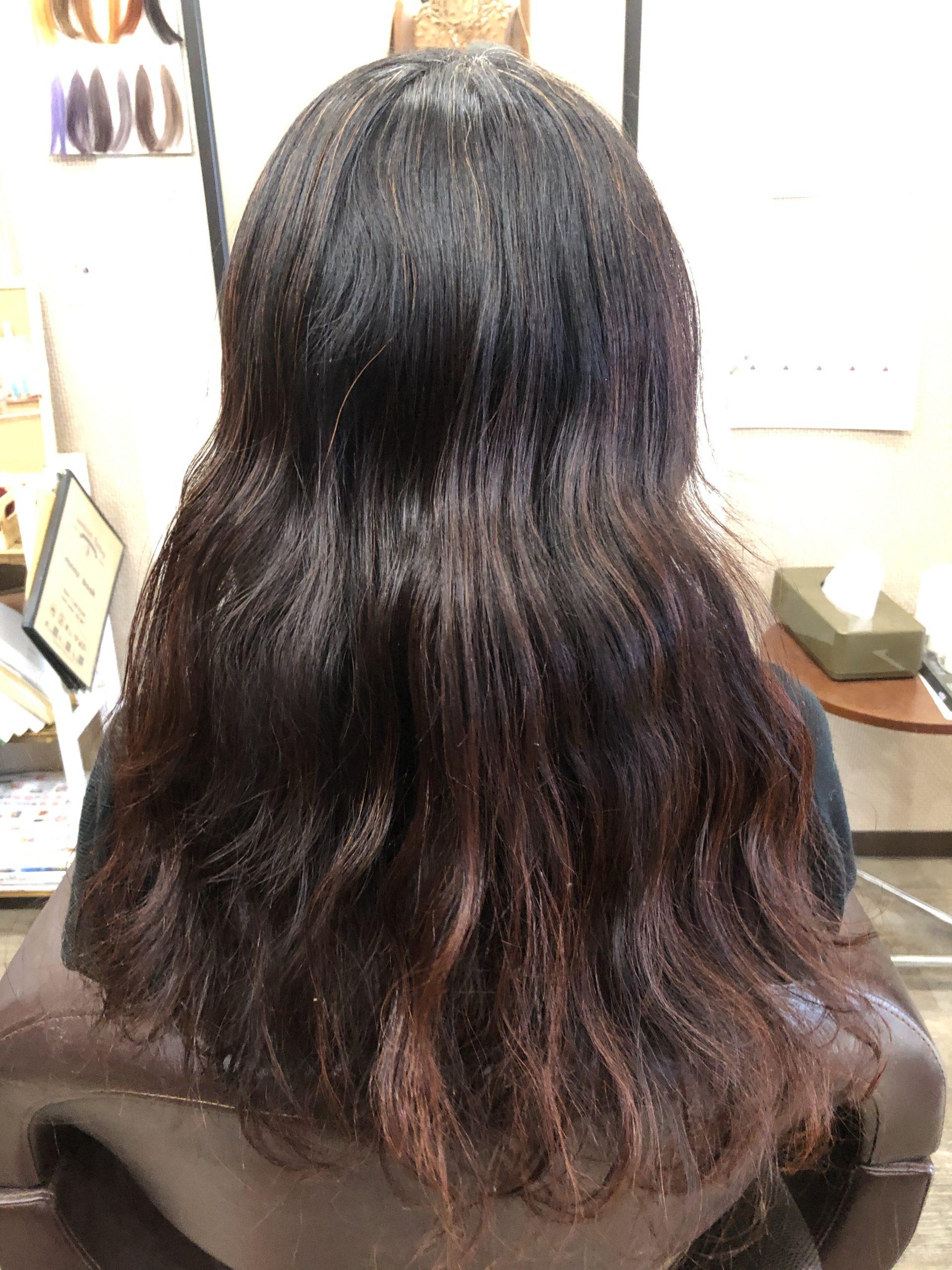 埼玉で天然100%ヘナで白髪染めの実例
