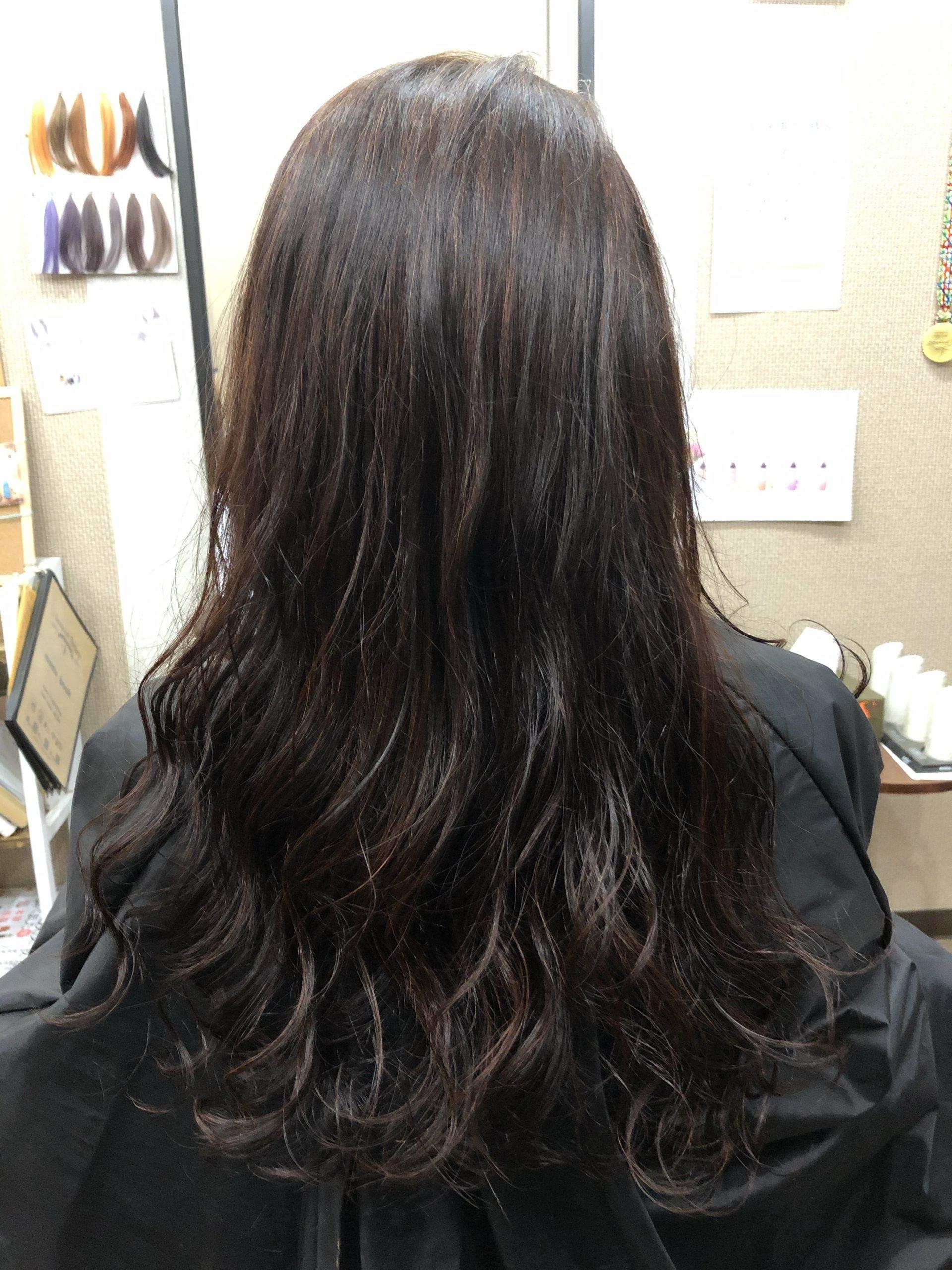埼玉県でハナヘナで白髪染めの実例